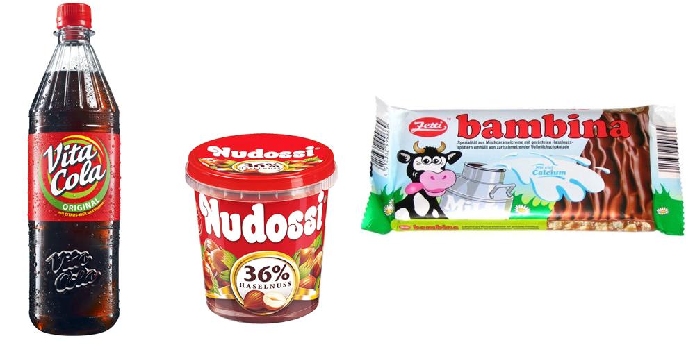 DDR Produkte neues Design heute im Supermarkt