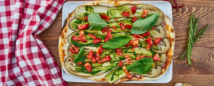 vegane Pizza Foodbox