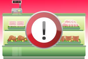 Lebensmittelwarnung und Lebensmittelsicherheit