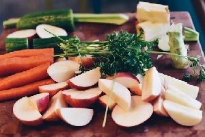 Vorratshaltung von Obst und Gemüse