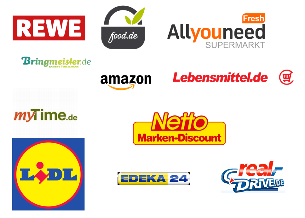 Online Supermarkt Vergleich