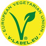 Lebensmittel Siegel V-Label