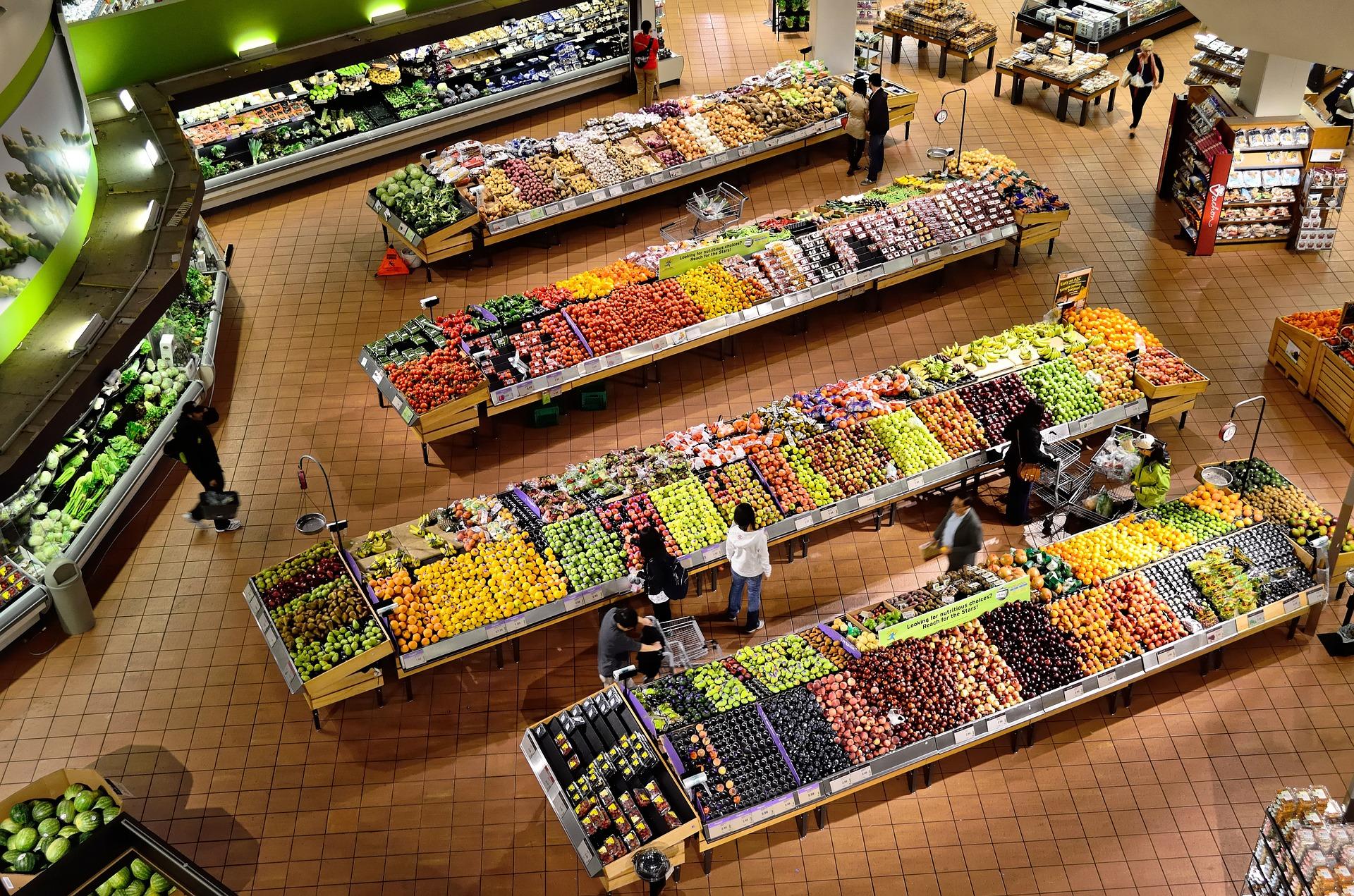 abgelaufene Lebensmittel kaufen Supermarkt
