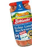 Böklunder Echte Landbockwurst, 250g