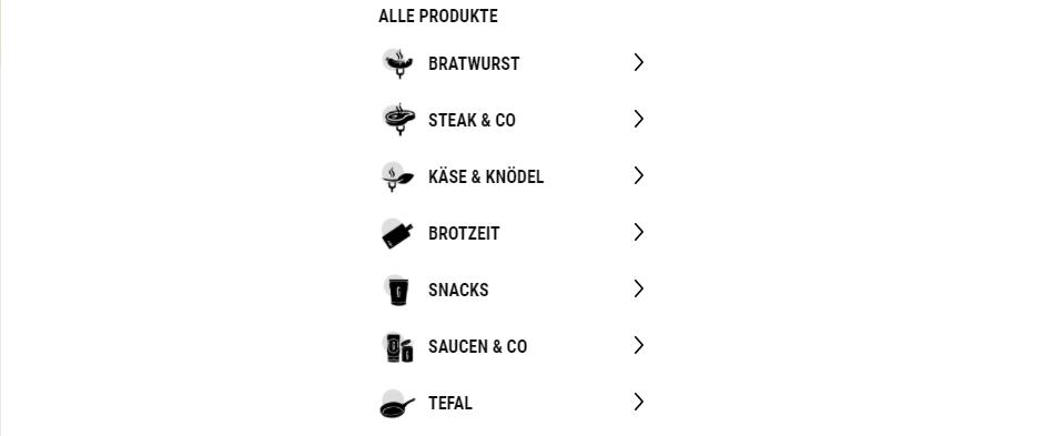 die verschiedenen grillido produkte