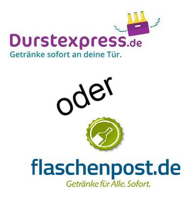 Durstexpress Flaschenpost Vergleich
