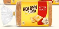 Golden Toast Buttertoast, 500g