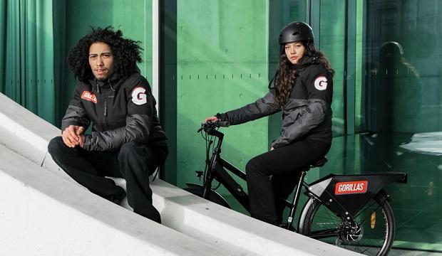 Lieferservice Gorillas E-Bike