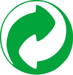 Grüner Punkt Logo Recycling