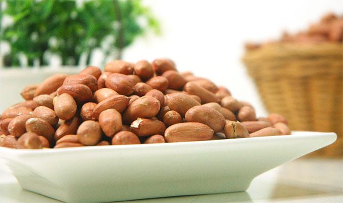 Nüsse und Kerne enthalten Eisen