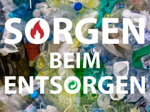 Plastik Sorgen beim Entsorgen