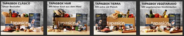 Tapasion Kochbox