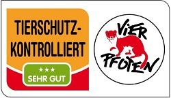 Logo Tierschutz kontrolliert