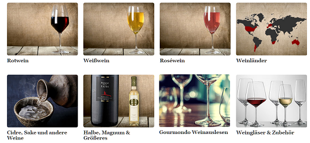 Gourmondo Wein