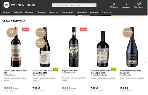 weinfreunde online shop
