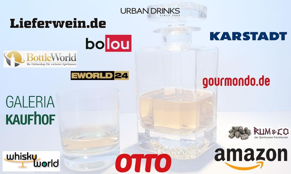 Whisky online kaufen - Online Shops