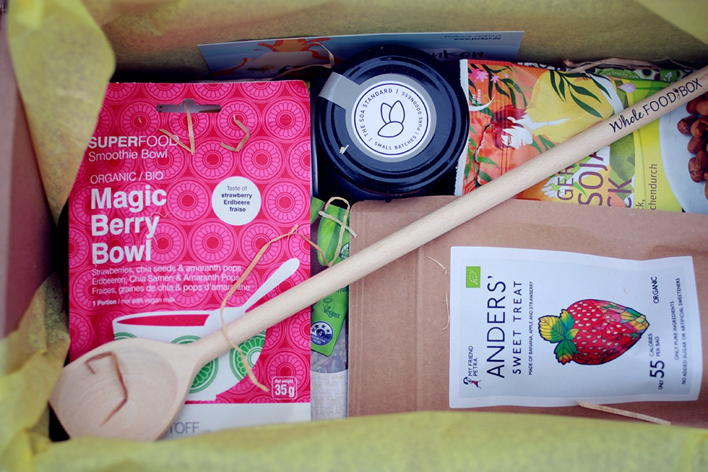 Bio und vegane Foodbox - Whole Food Box